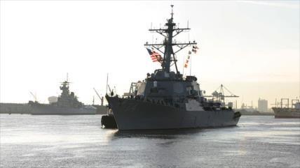 EEUU envía otros dos destructores al Golfo Pérsico