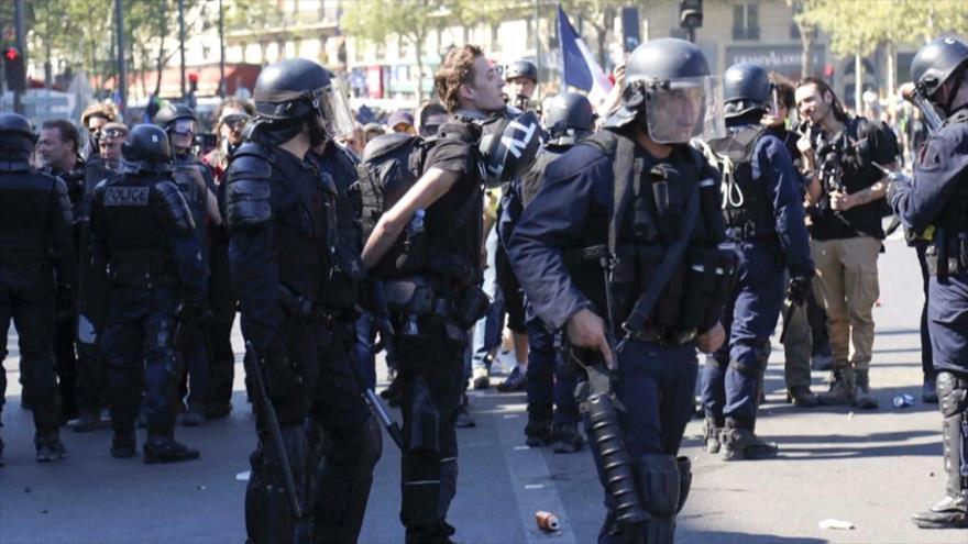 Sindicatos denuncian que Francia ataca la libertad de prensa