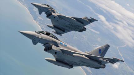 Cazas británicos escoltan Su-27 y Il-22 rusos sobre Estonia