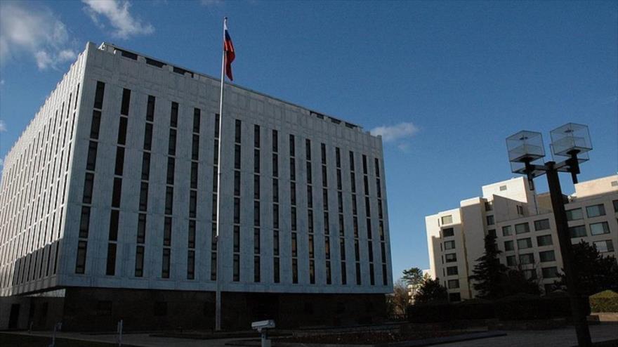 La embajada rusa en Washington, EE.UU.