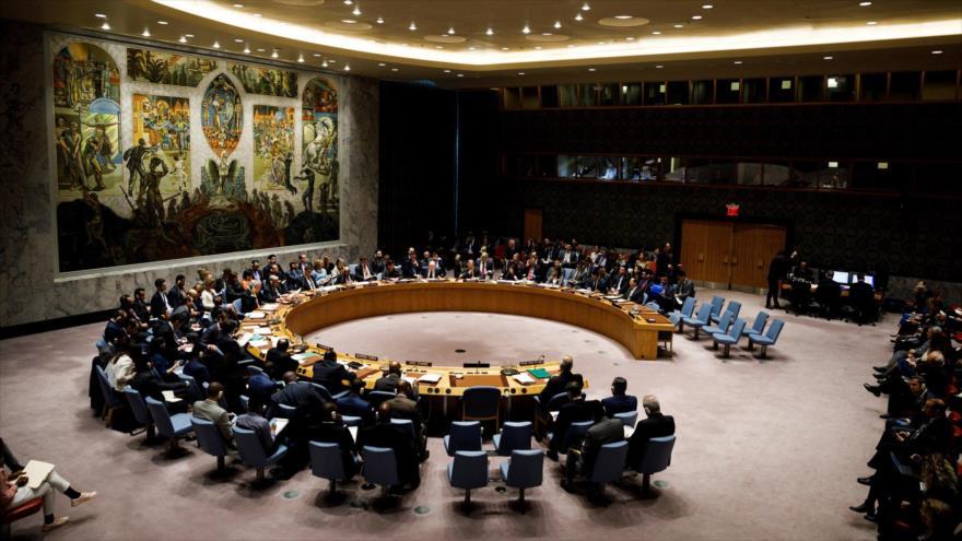 Una sesión del Consejo de Seguridad de la Organización de las Naciones Unidas (ONU).