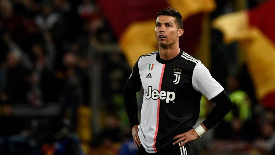 El delantero portugués de la Juventus, Cristiano Ronaldo, durante un partido en el estadio olímpico de Roma (Italia), 12 de mayo de 2019. (Foto: AFP)