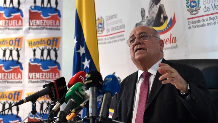 Venezuela exige a España que revoque el reconocimiento de Guaidó | HISPANTV