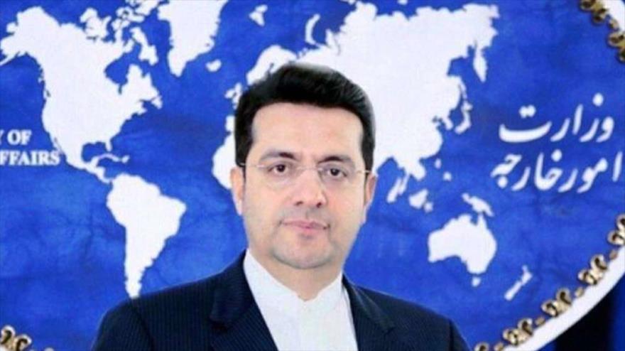 Seyed Abás Musavi, portavoz del Ministerio iraní de Asuntos Exteriores.