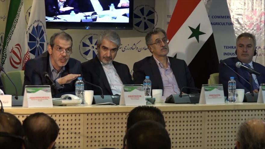 Irán y Siria acuerdan nuevos mecanismos de cooperación bilateral