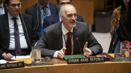 Siria denuncia el apoyo extranjero a los terroristas de Idlib
