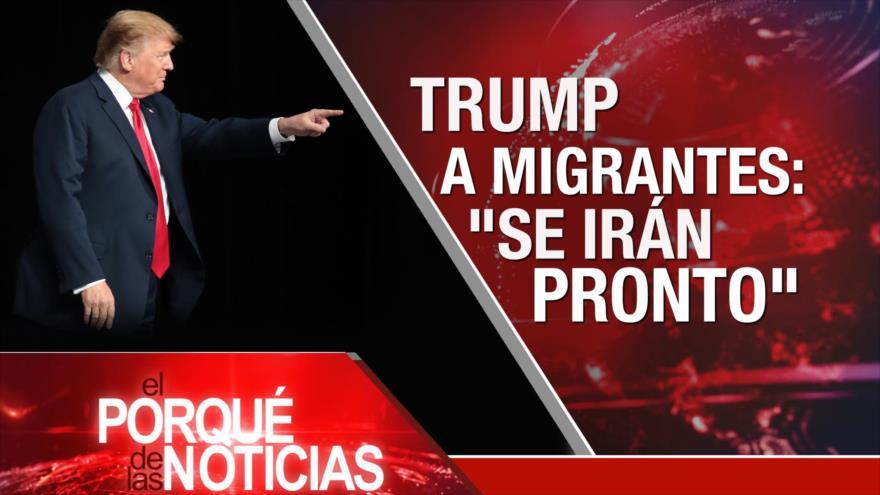El Porqué de las Noticias: Tensión EEUU-Irán. Siria combate el terrorismo. Trump contra inmigrantes