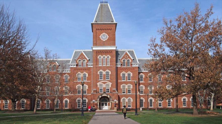 El campus de la Universidad de Ohio en EE.UU. donde Richard Strauss abusó sexualmente de al menos 177 estudiantes durante casi dos décadas.