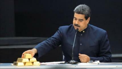 Venezuela vende $570 millones en oro pese a sanciones de EEUU