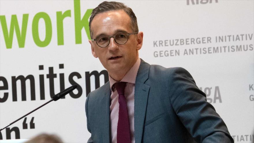 El ministro de Exteriores de Alemania, Heiko Maas, en Berlín, capital alemana, 14 de mayo de 2019. (Foto: AFP)