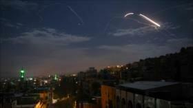 Defensa siria repele nuevo ataque aéreo lanzado por Israel