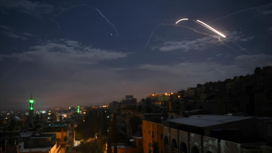 Defensa siria repele nuevo ataque aéreo lanzado por Israel | HISPANTV
