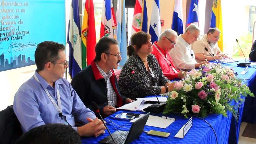 Foro de Sao Paulo en Nicaragua expresa apoyo a Ortega y Maduro