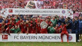 Bayern de Múnich conquista su séptima Bundesliga consecutiva