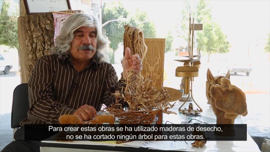 Irán: Artesanía en Golpayegan