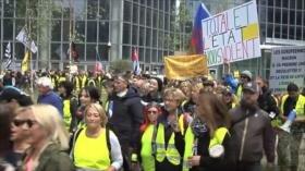 27 sábados de movilización de chalecos amarillos en Francia
