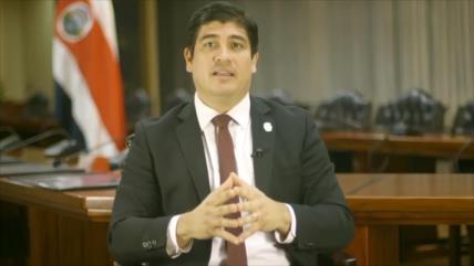 Baja aprobación en primer año de gobierno en Costa Rica