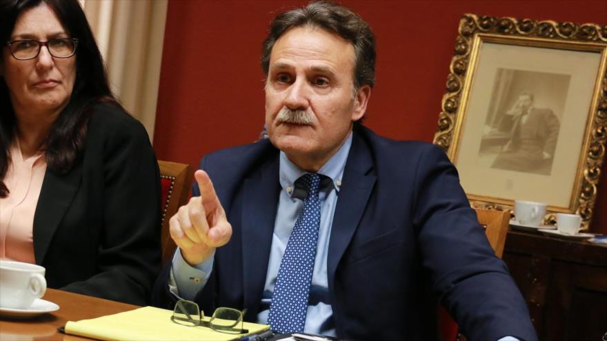 El embajador de Cuba en España, Gustavo Machín.