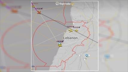 F-16 israelíes usan como escudo a avión catarí para atacar Siria