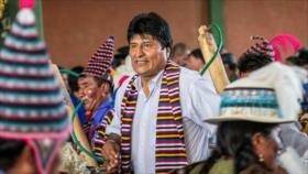 Evo Morales encabeza intenciones de voto con 38 %