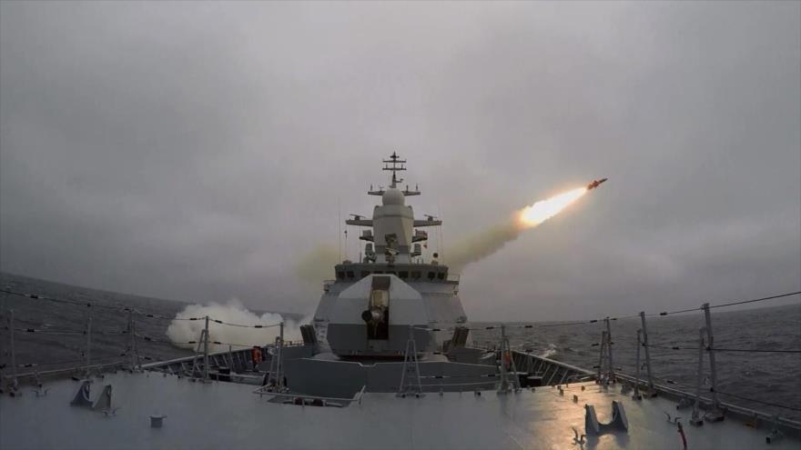 La Armada rusa realiza maniobras militares en el Báltico | HISPANTV