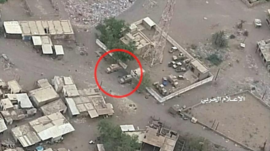 Los drones del movimiento popular yemení Ansarolá filman los objetivos militares de Arabia Saudí.