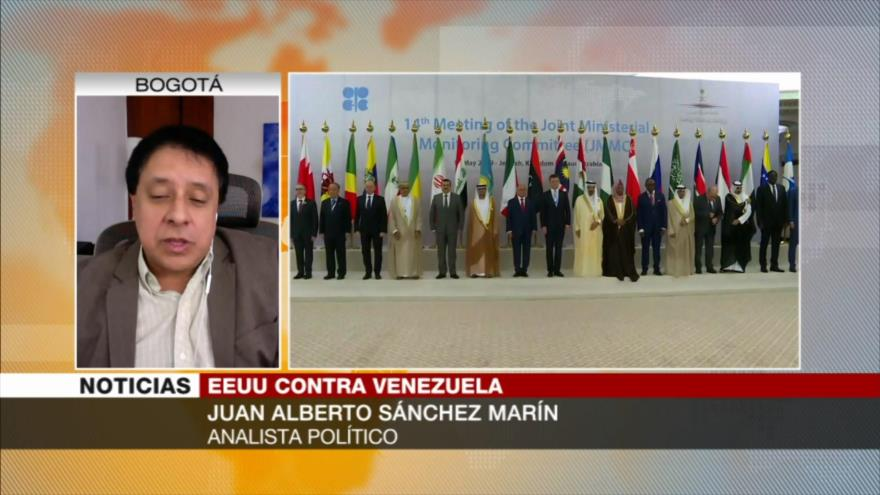 Sánchez: Riad no puede compensar vacío de crudo iraní y venezolano