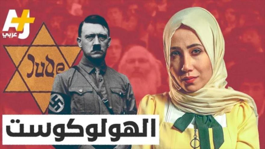 "Miniatura del programa especial de Al Jazeera sobre ""Holocausto""."