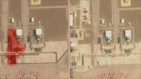 Fotos muestran que Aramco saudí sufre daños por ataques de Yemen
