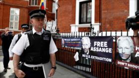 WikiLeaks repudia entrega de pertenencias de Assange a EEUU