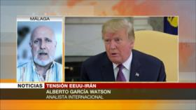Watson: EEUU solo amenaza y no tiene el poder para atacar a Irán