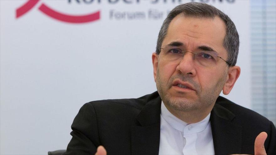El embajador de Irán ante las Naciones Unidas, Mayid Tajt Ravanchi.
