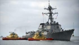 China arremete contra EEUU por nuevas provocaciones en sus aguas