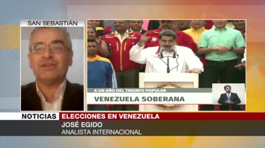 Egido: Guaidó y sus jefes políticos no quieren las parlamentarias