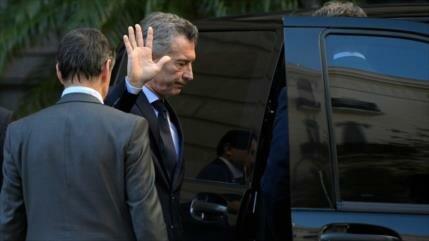 Empleados televisivos argentinos denuncian censura a favor de Macri