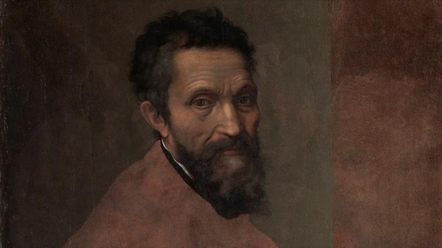 Retrato del genio italiano Miguel Ángel.