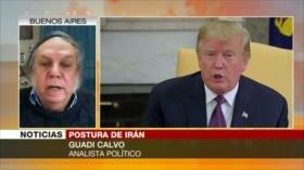 Calvo: Israel está detrás de políticas de Trump para Oriente Medio