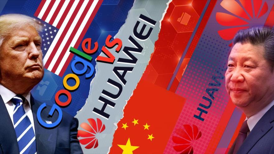 Detrás de la Razón: Google vs Huawei; la guerra entre EEUU y China ya comenzó en el ciberespacio