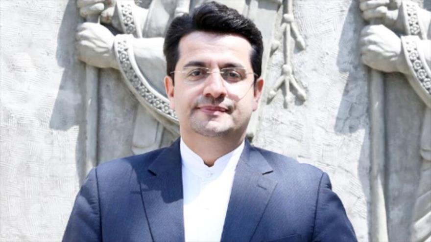 El portavoz del Ministerio iraní de Asuntos Exteriores, Seyed Abás Musavi