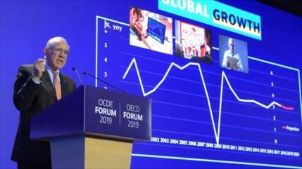 OCDE urge a detener escalada de tensiones comerciales en el mundo