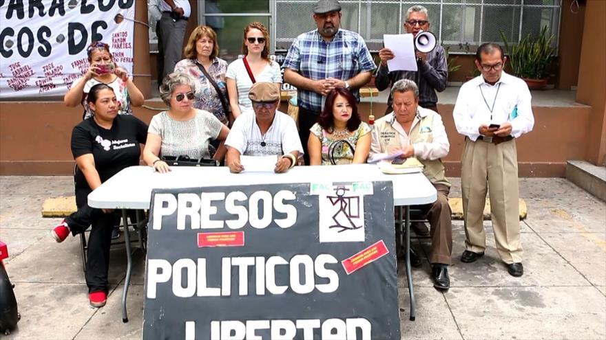 Familiares de presos políticos en Honduras denuncian maltratos