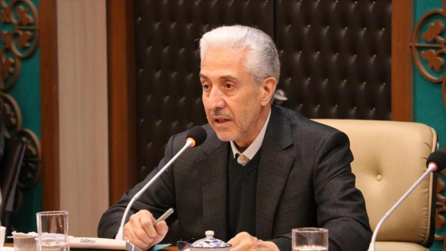 El ministro iraní de Ciencia, Investigación y Tecnología, Mansur Qolami.