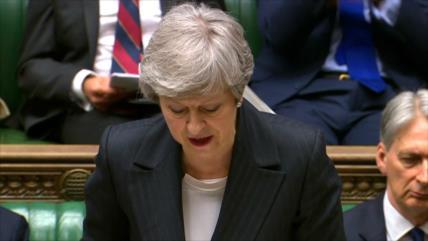 May defiende ante Parlamento su nuevo pacto de Brexit