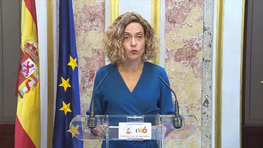 Disputa en España por la suspensión de parlamentarios presos