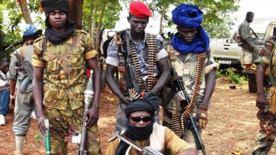 Miembros de un grupo armado que siembra terror en el norte de República Centroafricana.