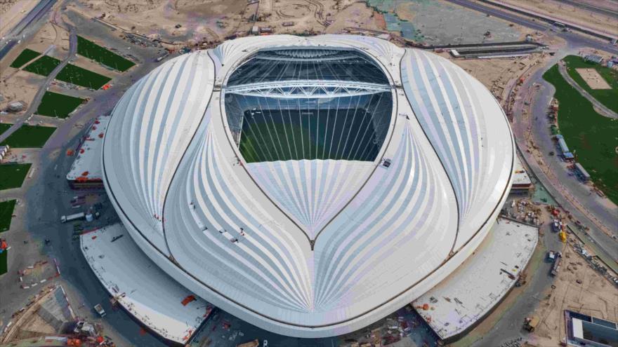 El Estadio Al-Wakrah, donde se celebrarán los partidos del Mundial de Catar 2022.