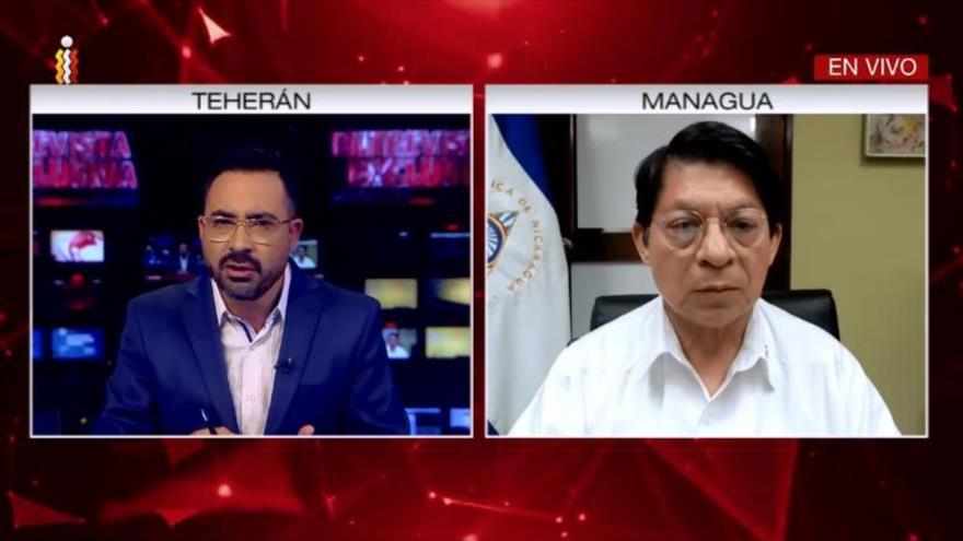 Entrevista exclusiva de canciller de Nicaragua con HispanTV