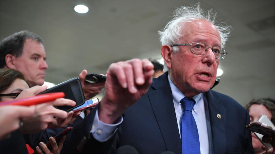 Sanders: Es hora de investigar para abrir juicio político contra Trump