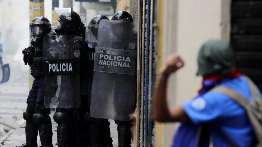 Hondureños protestan contra Gobierno de Juan Orlando Hernández