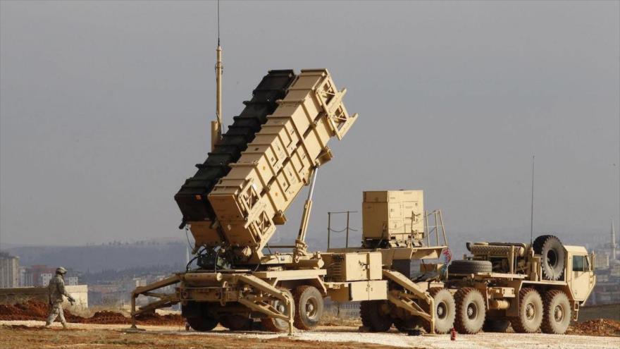 Una batería de los sistemas de defensa antimisiles Patriot.